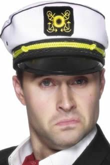 Sailor Fancy Dress Captain Hat